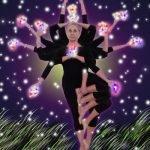 Vrikshasana: la postura dell'albero... di Natale